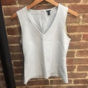 SZ S Heather Gray J.Crew Top